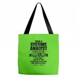 being a systems analyst copy Tote Bags | Artistshot