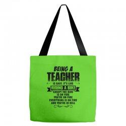 being a teacher copy Tote Bags | Artistshot