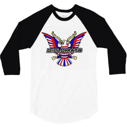 Diplomats Music 3/4 Sleeve Shirt Designed By Leo Art