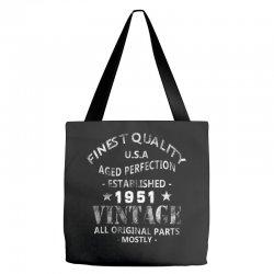 vintage 1951 Tote Bags | Artistshot