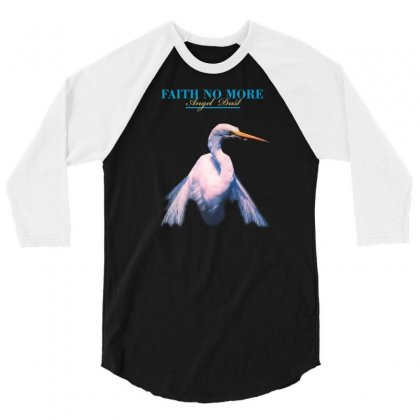 Faith No More Angel Dust 3/4 Sleeve Shirt Designed By Killakam