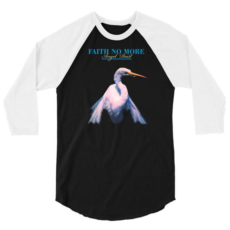 Faith No More Angel Dust 3/4 Sleeve Shirt   Artistshot