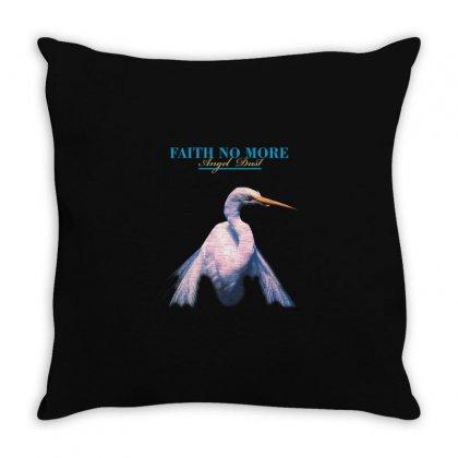 Faith No More Angel Dust Throw Pillow Designed By Killakam