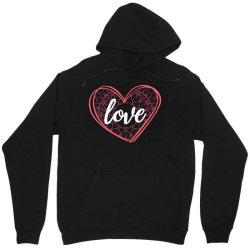 valentine's day mandala heart Unisex Hoodie   Artistshot