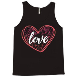 valentine's day mandala heart Tank Top   Artistshot