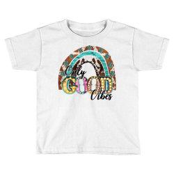 western only good vibes Toddler T-shirt   Artistshot
