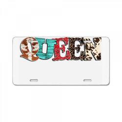 western queen License Plate | Artistshot