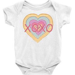 xoxo heart Baby Bodysuit | Artistshot
