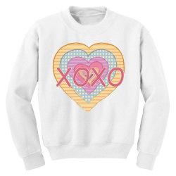 xoxo heart Youth Sweatshirt | Artistshot