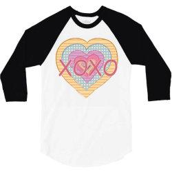 xoxo heart 3/4 Sleeve Shirt | Artistshot