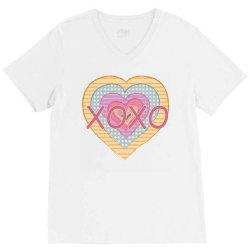xoxo heart V-Neck Tee | Artistshot