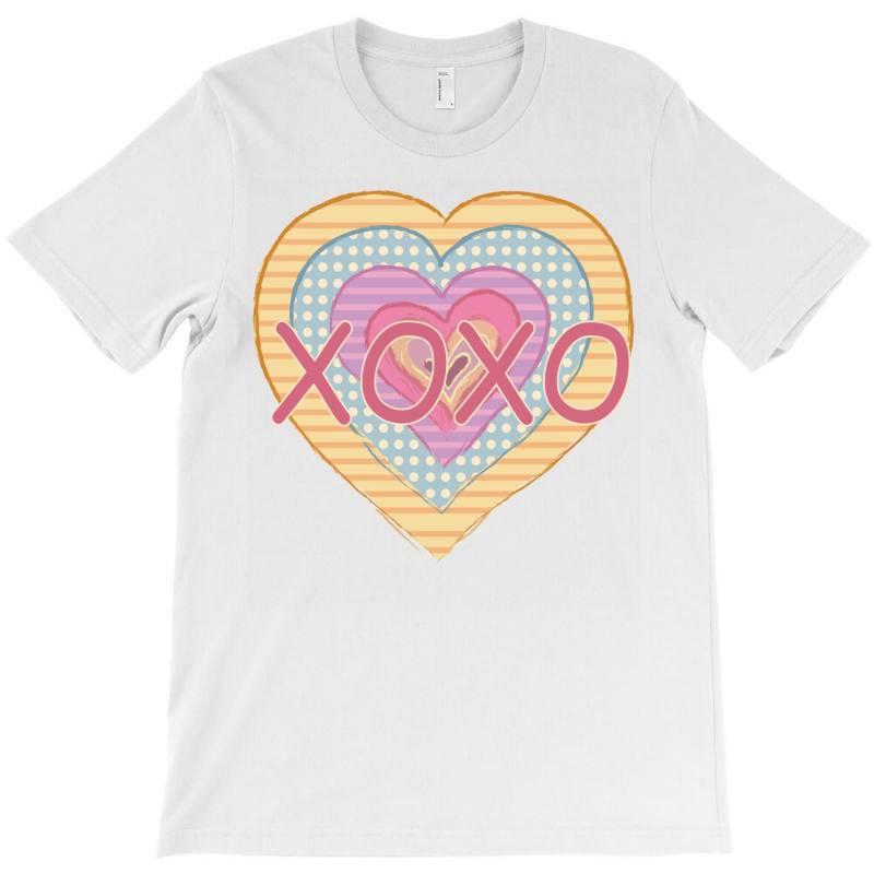 Xoxo Heart T-shirt | Artistshot