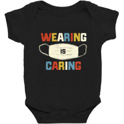 wearing is caring Baby Bodysuit | Artistshot