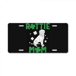 womens rottie mom License Plate | Artistshot