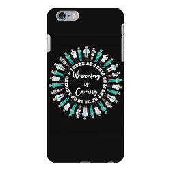 wearing is caring 2 iPhone 6 Plus/6s Plus Case | Artistshot