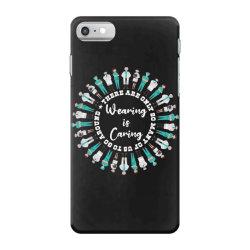 wearing is caring 2 iPhone 7 Case | Artistshot