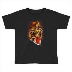 warrior queen Toddler T-shirt | Artistshot