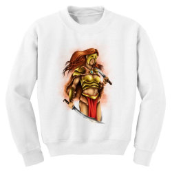warrior queen Youth Sweatshirt | Artistshot