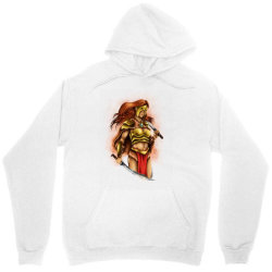 warrior queen Unisex Hoodie   Artistshot