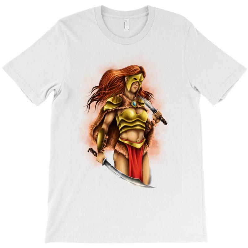 Warrior Queen T-shirt   Artistshot