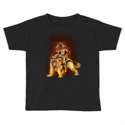 the lion rider Toddler T-shirt | Artistshot