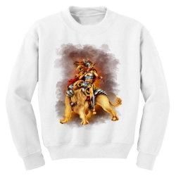 the lion rider Youth Sweatshirt | Artistshot