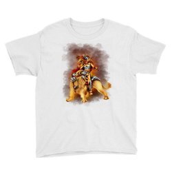 the lion rider Youth Tee | Artistshot