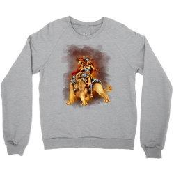 the lion rider Crewneck Sweatshirt | Artistshot