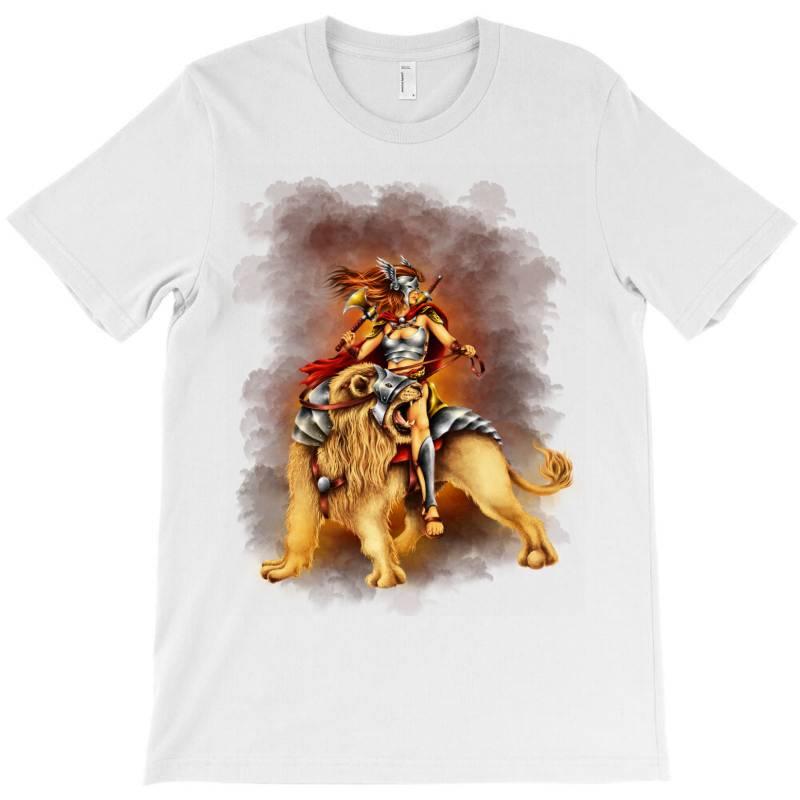 The Lion Rider T-shirt | Artistshot