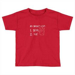 my bucket list Toddler T-shirt | Artistshot