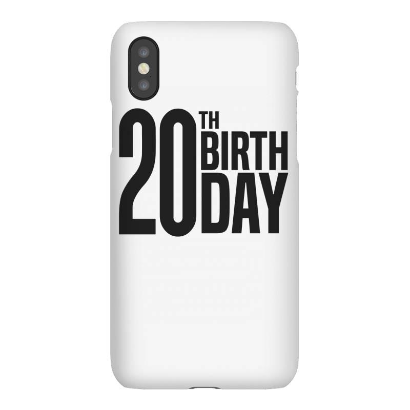 20th Birthday Iphonex Case | Artistshot