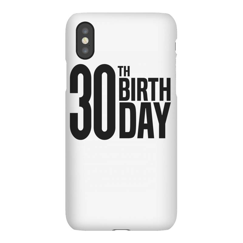 30th Birthday Iphonex Case | Artistshot