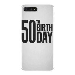 50th Birthday iPhone 7 Plus Case | Artistshot