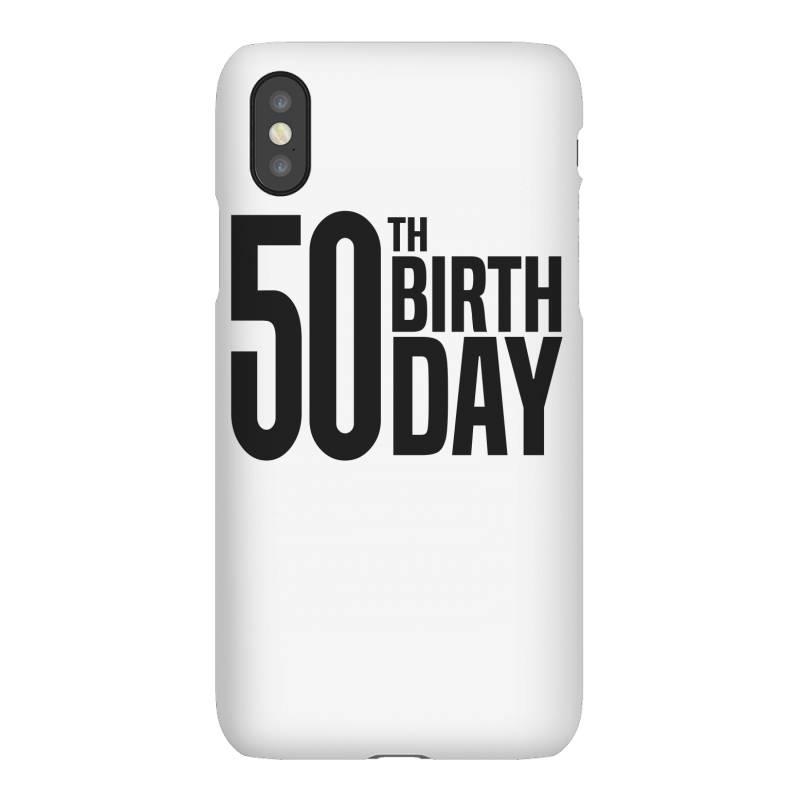 50th Birthday Iphonex Case | Artistshot