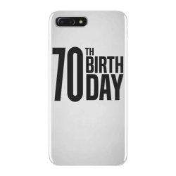 70th Birthday iPhone 7 Plus Case | Artistshot