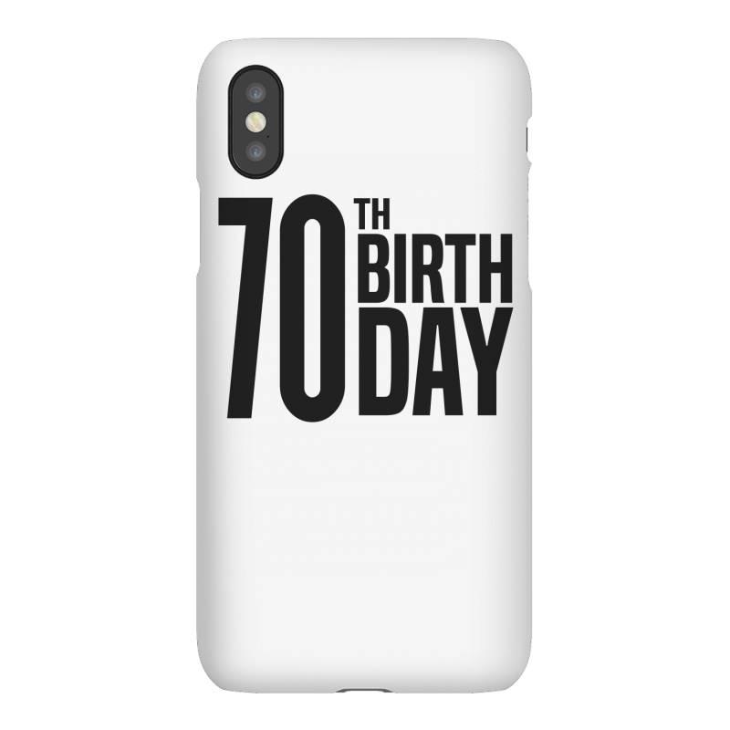 70th Birthday Iphonex Case | Artistshot