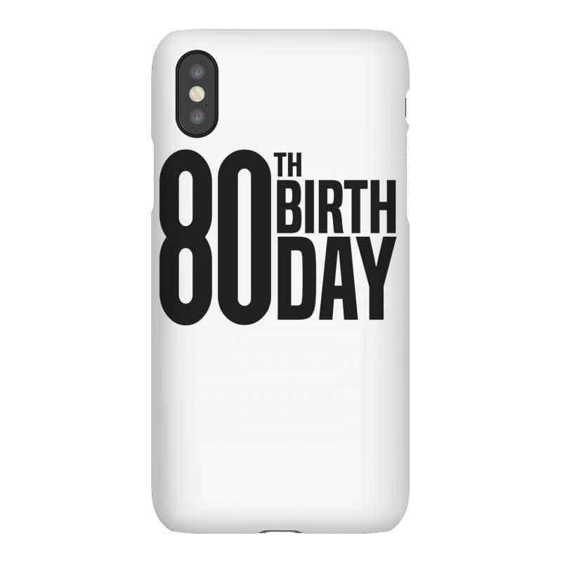 80th Birthday Iphonex Case | Artistshot
