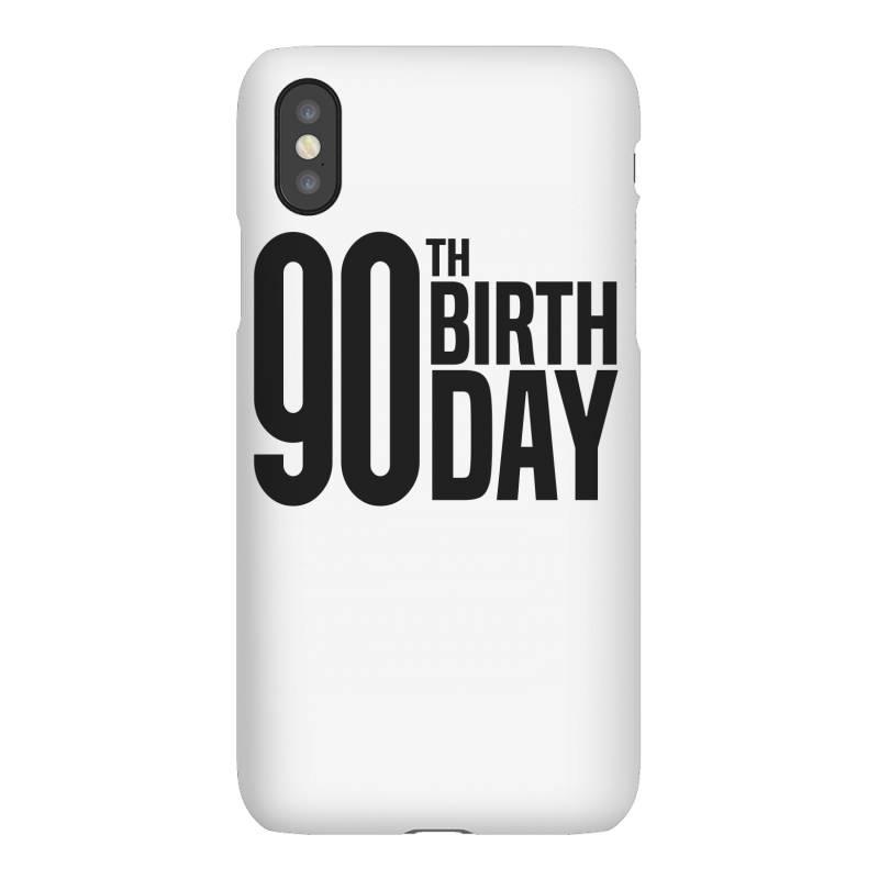 90th Birthday Iphonex Case | Artistshot