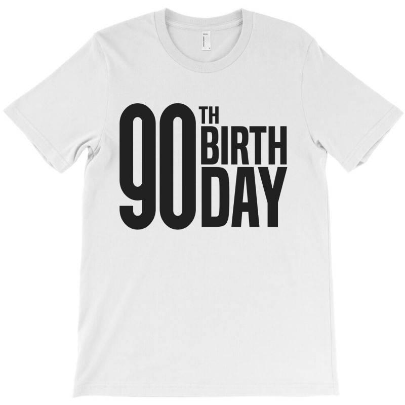 90th Birthday T-shirt   Artistshot