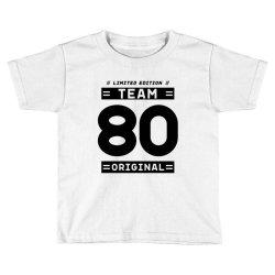 80 Year Old - 80th Birthday Funny Gift Toddler T-shirt   Artistshot