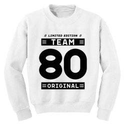 80 Year Old - 80th Birthday Funny Gift Youth Sweatshirt   Artistshot