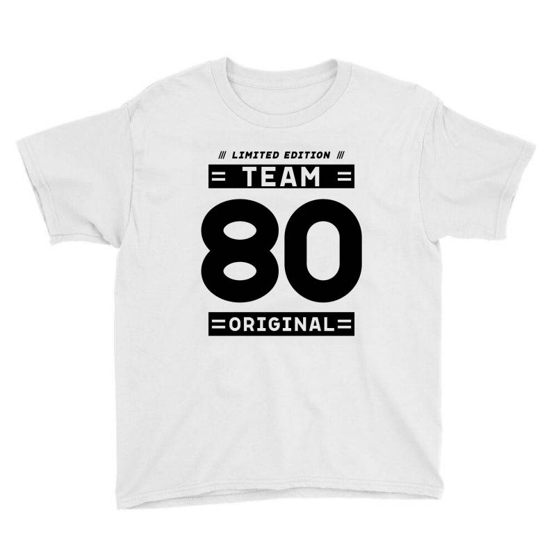 80 Year Old - 80th Birthday Funny Gift Youth Tee   Artistshot