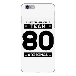 80 Year Old - 80th Birthday Funny Gift iPhone 6 Plus/6s Plus Case | Artistshot