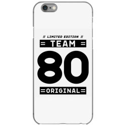 80 Year Old - 80th Birthday Funny Gift iPhone 6/6s Case | Artistshot
