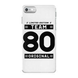 80 Year Old - 80th Birthday Funny Gift iPhone 7 Case | Artistshot