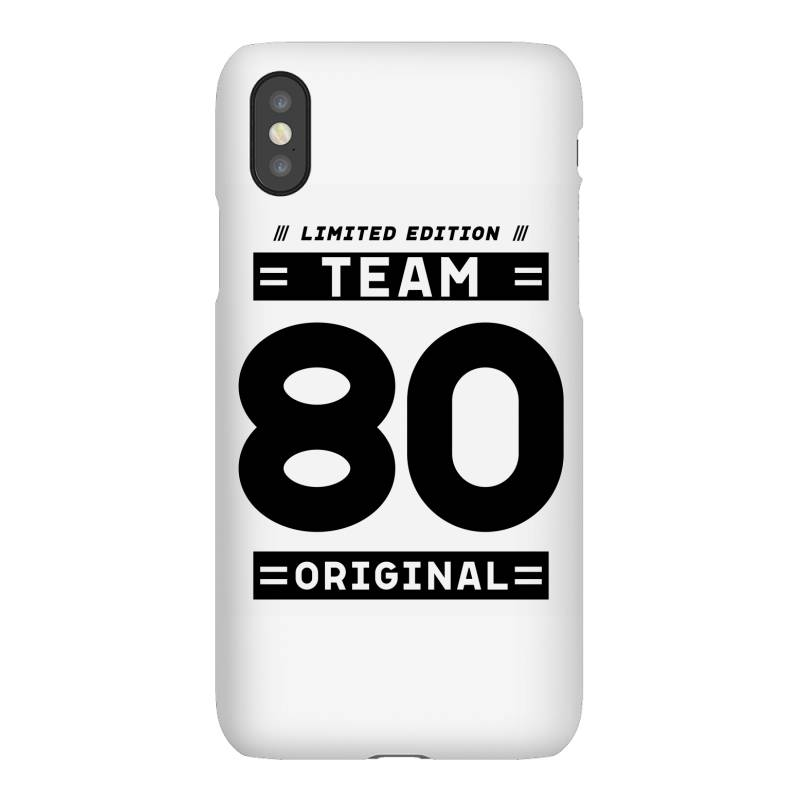 80 Year Old - 80th Birthday Funny Gift Iphonex Case | Artistshot