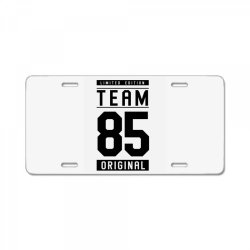 85 Year Old - 85th Birthday Funny Gift License Plate | Artistshot