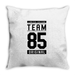 85 Year Old - 85th Birthday Funny Gift Throw Pillow | Artistshot