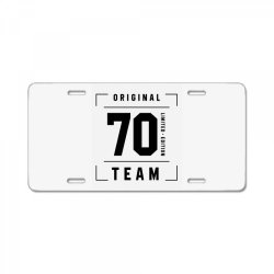 70 Year Old - 70th Birthday Funny Gift License Plate | Artistshot