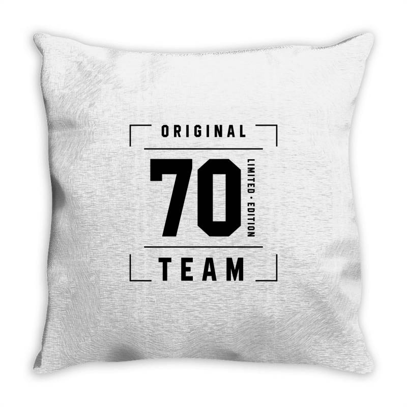 70 Year Old - 70th Birthday Funny Gift Throw Pillow   Artistshot